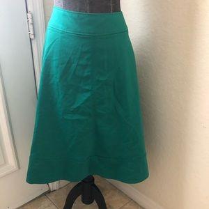 Green Circle Skirt